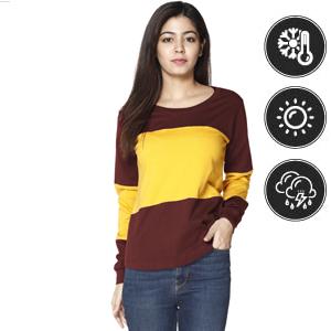 Women T Shirt, Cotton T Shirt, T Shirt For  girl,full sleeve cotton t Shirt