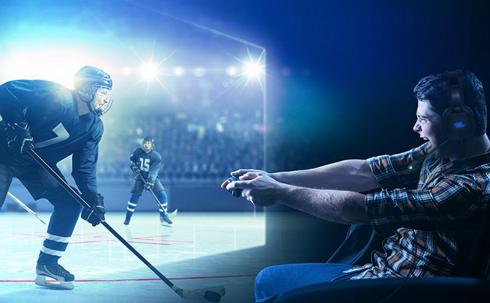 casque de Gaming cool, Experience de jeu immersive