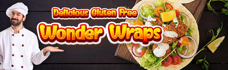Gluten Free sandwich  Wraps