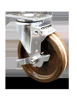 Series 20 Light Duty Phenolic High Temperature Wheel Casters