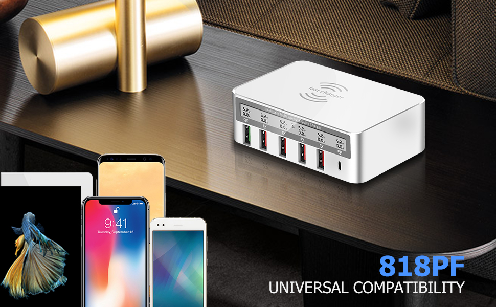 Multiport USB Charging Station