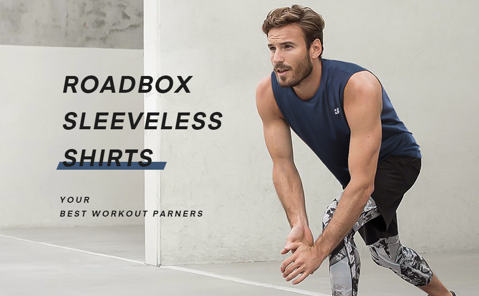 Roadbox sleeveless shirts for men is your best gift choice for your boyfriend son father brother