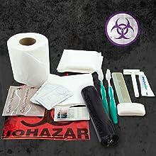 hygiene santiation clean messfree emergency camping hiking toiletpaper liners biohazard bag toilet