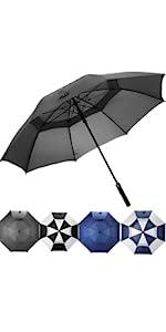 62 INCH Vented Golf Umbrella