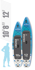 Bluefin Carbon Cruise SUP 10'8quot;  |  12'