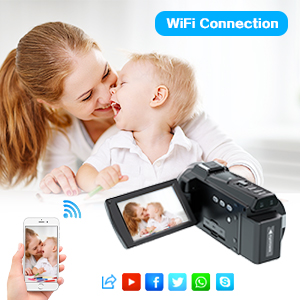 4k video camera camcorder