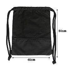 Risefit Honeycomb Waterproof Drawstring Bag String Backpack Gym Bag Sackpack for Men Women