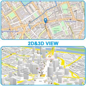 2D&3D Map