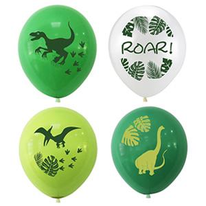 dinosuar print balloons