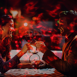 Romantic Light Projector for Dating
