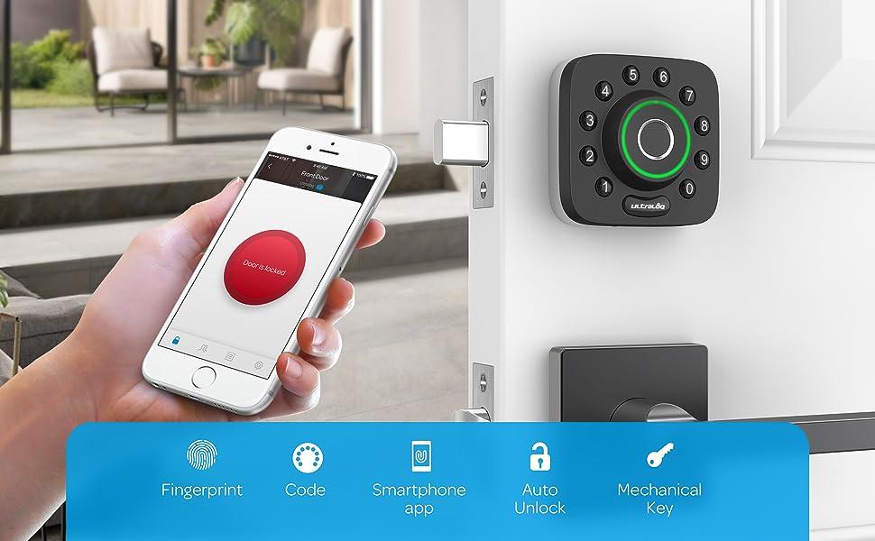 remote control smart deadbolt lock