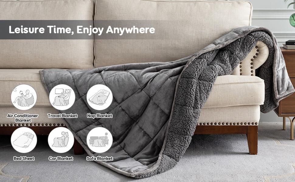 SIVIO Weighted Blanket