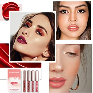 Valentine's Day gift Mothers' Day Hallowmas Thanksgiving Day Christmas gift matte lip Lip Gloss