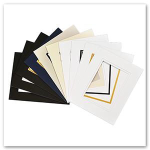 golden state art 8x10 for 5x7 doube matting mats for art print photo bundle set pack