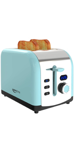blue lcd timer toaster