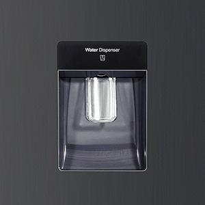 Ce modèle est équipé d'une distributeur d'eau autonome de 5,5 litres d'eau.