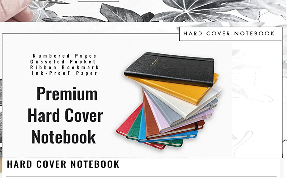 Minimalism Art Hard Cover Notebook