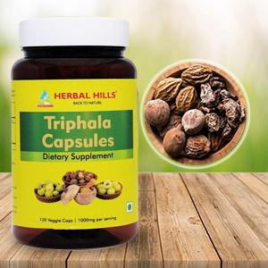 Herbal Hills Triphala Capsule Powder myrobalans Emblica officinal gooseberry amala Amla Neem Jambu