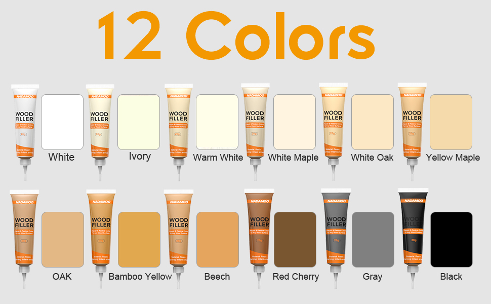 wood scratch remover furniture repair kit touch up marker paint stain pen fix oak maple walnut gray