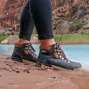 waterproof, river, mud, protection, hiking, outdoors, sneakerboot