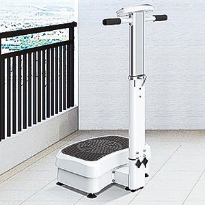 Vibration Platform Machine Vibration Plate Exercise Machine with Adjustable Handle