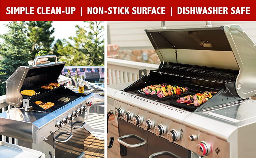 Simple Clean-Up. Non-Stick Surface. Dishwasher Safe
