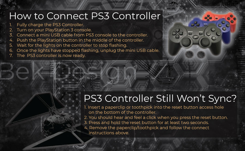 How to connect PS3 Controller to PlayStation 3 console