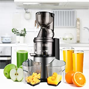 mueller juicers sellers koios amzchef vegetable triturating refurbished homever cold fountain heavy
