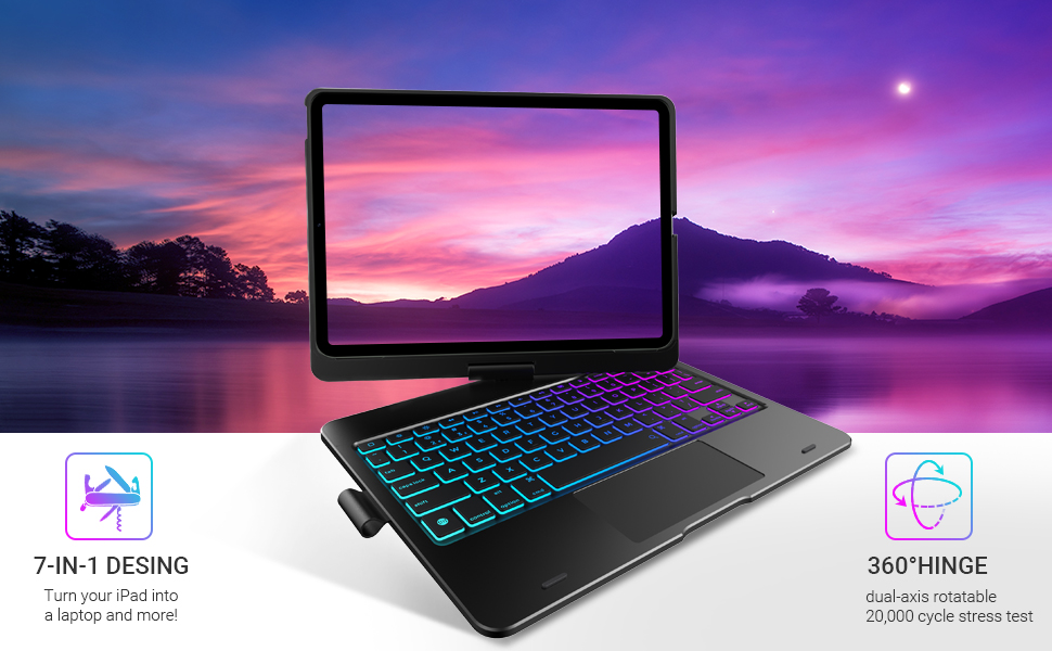 ipad air 4 case, ipad air 4 case 2020, 2020 ipad air 4 case with keyboard,ipad pro 2018 11 inch case