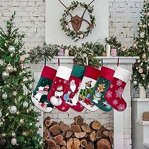 christmas stocking velvet 9