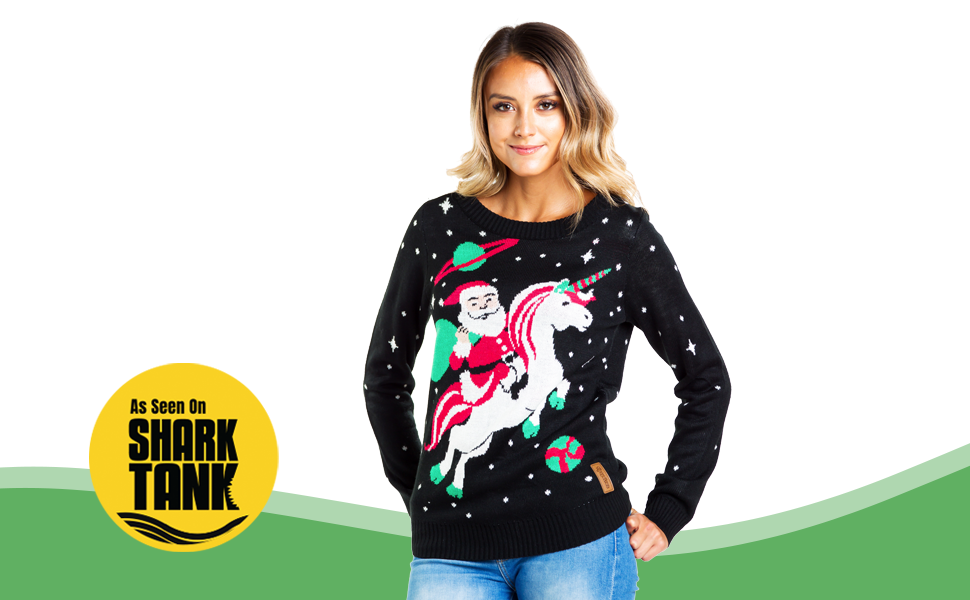 women's funny cute ugly Christmas sweater