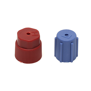 6Pcs//Set R134a 13mm /&16mm Air Conditioning Service AC A//C System Cap Charging Port Caps High Low Side 3Red High /& 3Blue Low