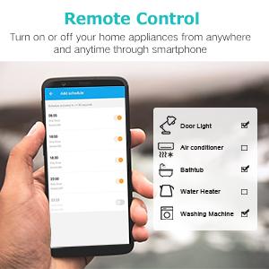 Remote Control via Smartphone