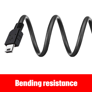 PS3 Controller Charging Cable,PS3 Remote USB CABLE, 5.4 Feet USB to Mini USB Charger Cable Data