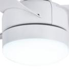 luz de techo con ventilador dormitorio