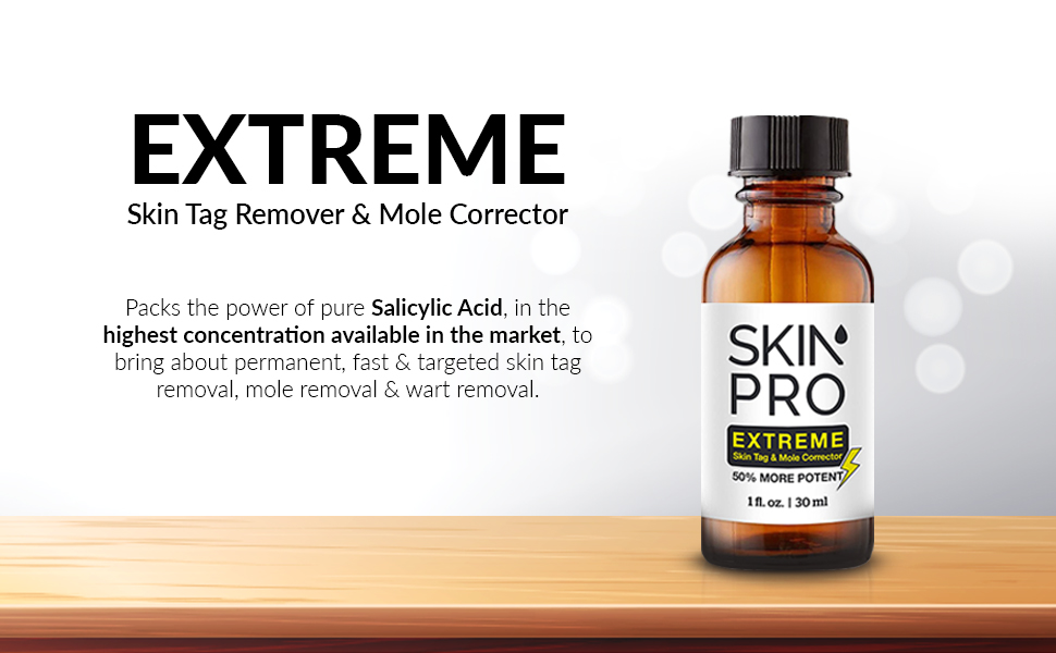 salicylic acid highest concentration permanent fast & targeted removal mole moles warts wart