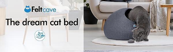 The dream cat bed