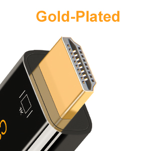 Plug & Play, Gold-Plated USBC to HDMI Adapter