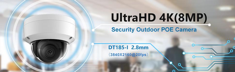 HIKVISION 4K IP camera