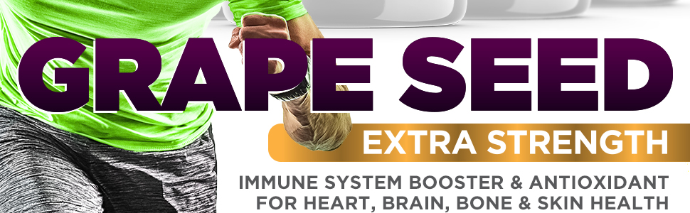 extra pure high potency grapeseed extract dietary supplement