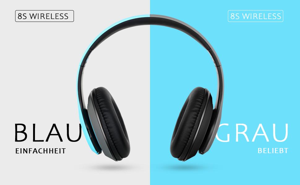 8S Bluetooth-Kopfhörer