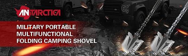 folding survival shovel