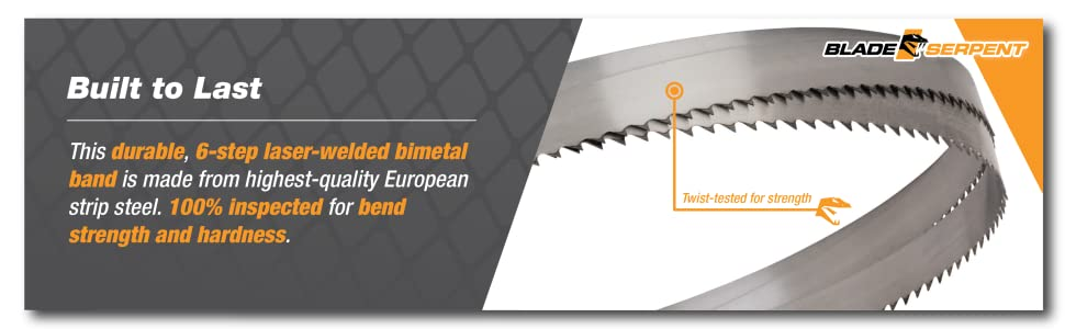 band metal cutting portable inch cordless steel set bimetal cut deep horizontal laser welded tested