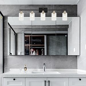 5-light bathroom vanity light