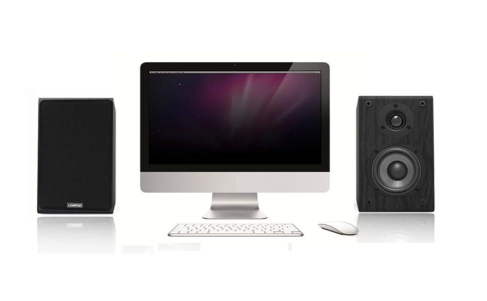 Passive bookshlef HI-FI speakers LP-42