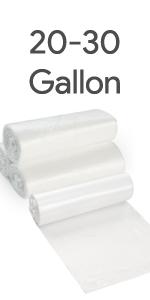 20-30 Gallon Trash bags