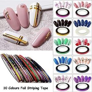 nail art striping tape