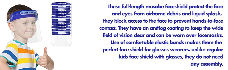 face sheild protection