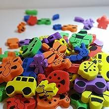 Knobelspiele für Kinder ab 8, Geschicklichkeitsspiele ab 6 Jahre, decubal, seilbahn für kinder