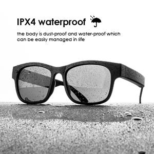 IPX4 waterproof